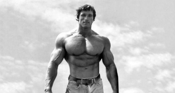 Arnold Schwarzenegger's Chest Routine
